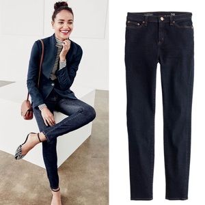 J.Crew High Rise Lookout Jeans Resin Wash
